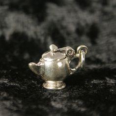 Sterling Silver Teapot Tea Charm