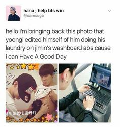 Omg hahaha now i see the behind the scene of that picture