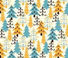 Fab Forest fabric by raebekah on Spoonflower - custom fabric
