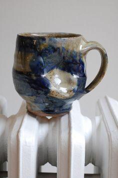 stoneware coffee mug  ralph nuara