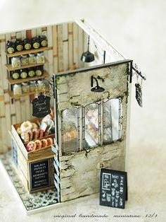 miniature* shop 外観  : natural色の生活~handmade家具