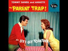"""A wholesome rock and roll duo - """"Let's Get Together sung by Tommy Sands and Annette Funicello!"""