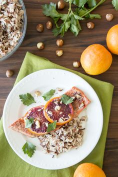 Cooking salmon is easier than you might think with this Blood Orange Roasted Salmon recipe. In no time at all, this dish will be ready for your family. Loaded with vibrant, fresh orange flavor and sweet caramelization from date sugar, it's the perfect weeknight meal. Enjoy! Organic Raw Honey, Natural Kitchen, Roasted Salmon, Cooking Salmon, Blood Orange, Salmon Recipes, Weeknight Meals, Vibrant, Sugar