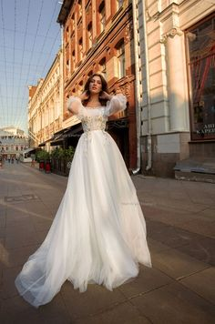 Wedding dress from Tulle, wedding dresses with sleeves, Airy dress, Off shoulder wedding, Romantic Brautkleid aus Tüll Brautkleider mit Ärmeln Airy Wedding Dress Shrugs, 2 Piece Wedding Dress, Shrug For Dresses, Wedding Dresses With Flowers, Bohemian Wedding Dresses, Wedding Dress Sleeves, Tulle Wedding, Dream Wedding Dresses, Designer Wedding Dresses