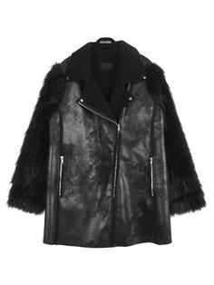 I bought this coat some weeks ago and it is awesome guys! It looks so stylish, the material is perfect and it keeps you warm in the freezing winter! It is long enough so that you won't feel cold and it looks awesome! I got so many compliments for it!