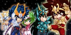 Finally done! This one is for poster and stand display in Saint Seiya only event too ;] Coloured in Photoshop CS3