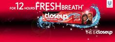 More Available!!120g CLOSEUP Deep Action Toothpaste Up to 12 Hours of Fresh Breath Whiter Teeth #CloseUp