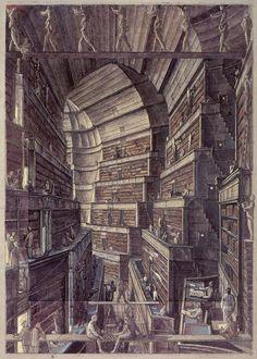 La Biblioteca de  Babel (1941) de Jorge Luis Borges Libroantiguo