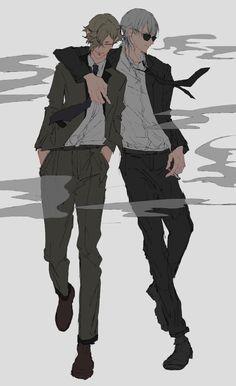 【刀剣乱舞】スーツが似合う鶴丸さんと鶯丸【とある審神者】 : とうらぶ速報~刀剣乱舞まとめブログ~