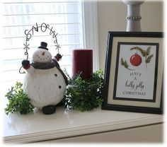 155 dream lane: Christmas Bedroom with Baby Carter
