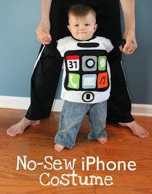 No-Sew iPhone Costume