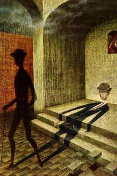 Remedios Varo - inusitado, não? a sombra que vai e a gente que fica impresso no chão.