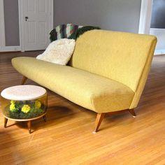 Mid Century Modern Sofa by Jens Risom circa 1950