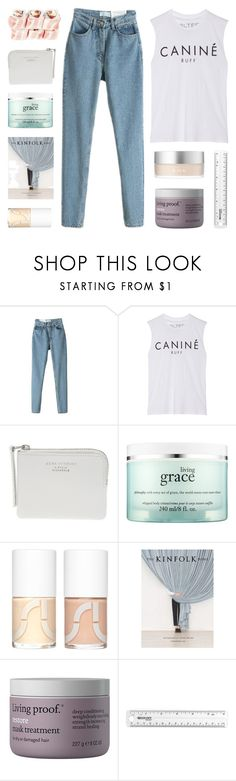 """""""i know the score like the back of my hand"""" by kristen-gregory-sexy-sports-babe ❤ liked on Polyvore featuring Brian Lichtenberg, The Webster, philosophy, Uslu Airlines, Radstudio!, Living Proof and RMK"""