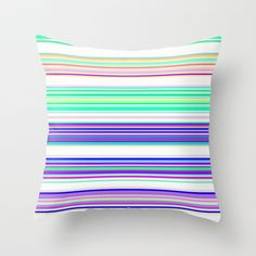 Re-Created Channels xxiii #Throw #Pillow by #Robert #S. #Lee - $20.00