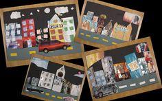 third grade art | 3rd Grade Collages