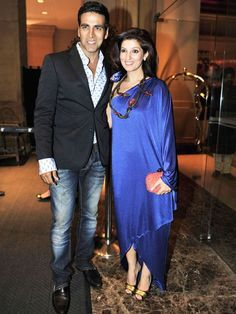 Twinkle Khanna & Akshay Kumar #Bollywood #Fashion