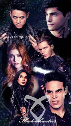I really love the casting of Shadowhunters.Ni matter how different the show deviates from the story line(WHICH IS A LOT),but I've seen before reading the books. Shadowhunters Series, Shadowhunters The Mortal Instruments, Cassandra Clare, Clary Und Jace, Constantin Film, Dramas, Isabelle Lightwood, Matthew Daddario, Clace