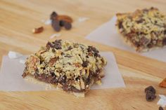 coconut pecan chocolate chunk bars