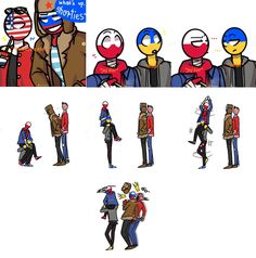 *ships *comic *normal day in our class # Humor # amreading # books # wattpad A Comics, Funny Comics, Hetalia, Human Flag, Mundo Comic, Country Men, History Memes, Anime Sketch, Disney Memes