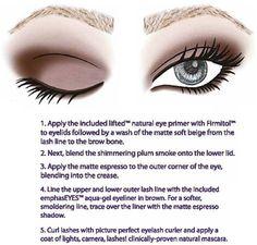 How to do a smokey eye.