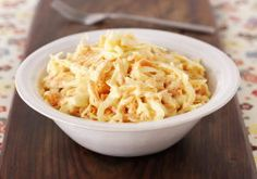 Home made coleslaw Slaw Recipes, Healthy Recipes, Coleslaw, No Cook Meals, Quick Easy Meals, Cooking Time, Family Meals, Baking Recipes, Macaroni And Cheese