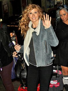 TRESSED TO THRILL photo   Connie Britton; loving this jacket!