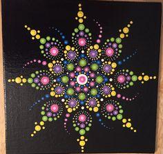 6 x 6 Dot Mandala Painting