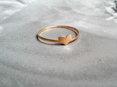 """Verlobungsringe - Goldring 750 """" in love"""" , Roségold - ein Designerstück von KatjaGold bei DaWanda"""
