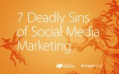 Dante's seventh circle of hell was reserved for errant social media marketers. Let us show you how to avoid it. #socialmedia