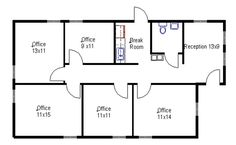 modular office – Home office design layout Small Office Design, Medical Office Design, Office Interior Design, Office Interiors, Office Layout Plan, Office Floor Plan, Floor Plan Layout, Office Building Plans, Building Layout