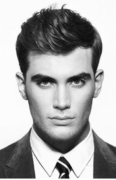 top 50 mens short hairstyles swept up