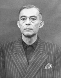 """Kurt Blome, Nazi Plenipotentiary for Cancer Research, headed the Biological Warfare Program. Under his direction, thousands of concentration camp inmates were subjected to horrific experiments with biological agents. Blome was arrested in 1945 but escaped hanging thanks to a scandalous """"arrangement"""" that associated him with US biological warfare programs. He continued to practice medicine in West Germany until he died, a free man who never paid for his crimes, in 1969."""