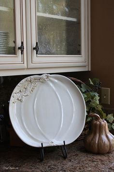 Plate Decor On Pinterest Home Decor Fall Plates And