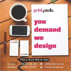 Printpedia specialises in customised design, branding and printing services in Aylesbury, Buckinghamshire and the rest of the UK. Kent London, Compliment Slip, Watford, Letterhead, Printing Services, Brighton, Compliments, Business Cards, Print Design