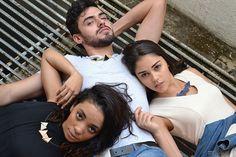 Colar Triângulos Mutáveis | Modelos: Ana Carolina Monteiro, Iuri Pires e Larissa Ohana | Fotografia: Victor Tadeu | Styling: Larissa Ohana