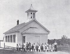 School exterior 1906.
