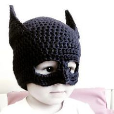 tutorial gorro de batman a crochet o ganchillo