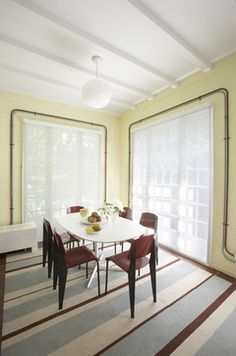 Forest Hills - modern - dining room - new york - Robert Kaner Interior Design