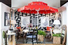 Joy Moyler Interiors created this stunning vignette for Housing Work's revered Design on a Dime benefit.
