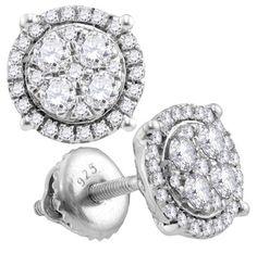3-4CT-Diamond FASHION EARRING