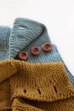 Knitting Buttonholes Roundup // Very Shannon