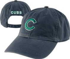 Chicago Cubs St. Patty's Clean Up '47 Brand Relaxed Adjustable Hat by '47 Brand. $25.99. Adjustable relaxed fit. Embroidered graphics. Adjustable closure allows for a comfortable fit. Team name on back. Officially licensed by MLB. The Cubs may not always have the luck of the Irish, but they sure have great fans! Help cheer them on while embracing your inner leprachaun in this Chicago Cubs St. Patty's Hat! Features a prominently displayed Chicago Cubs logo front and center.