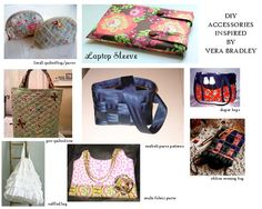 DIY quilted bags- Vera Bradley inspired bags, luggage and totes - Akron DIY Fashion | Examiner.com