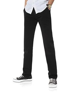 pantalones chinos hombre blanco