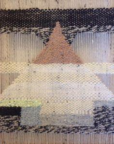 fiber art, hand weaving ©simone meentzen www.simonemeentzen.de