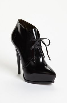Lanvin Ankle Boot - black patent leather