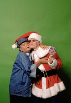Truman Capote and Andy Warhol