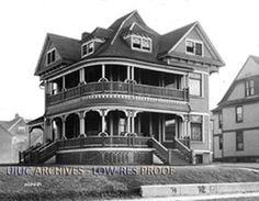 Acacia Fraternity, University of Illinois, 1914