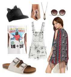 """""""Brooklyn Goes to Sasquatch"""" by bearpawstyle on Polyvore featuring Anthropologie and vintage"""